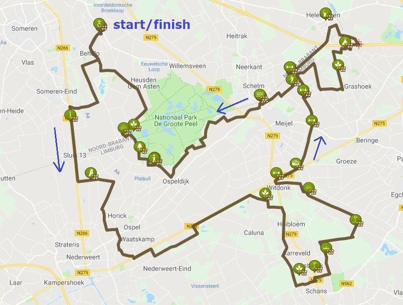 Route 80 km